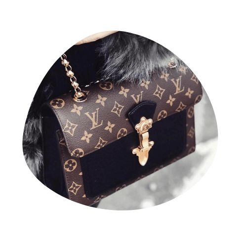 Louis Vuitton Monogram Lock Bag
